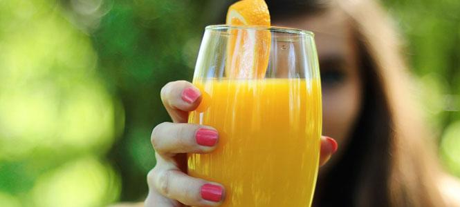 Pomerančové smoothie