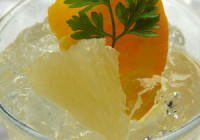 Grapefruitové smoothie se skořicí