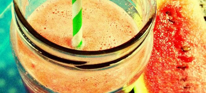 Recept na smoothie z vodního melounu