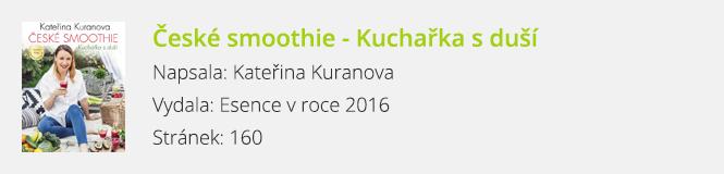 České smoothie - Kuchařka s duší