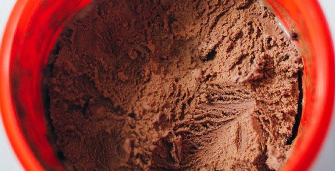 Čokoládová chia zmrzlina