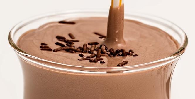 Kakao-oříškový chia nápoj