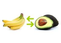 Náhled čím nahradit jednotlivé druhy ovoce a zeleniny