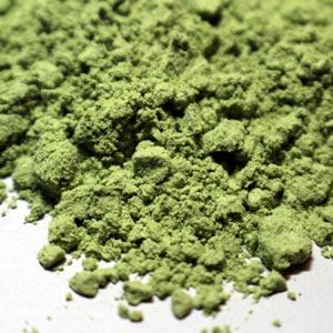 Zelené potraviny na stole