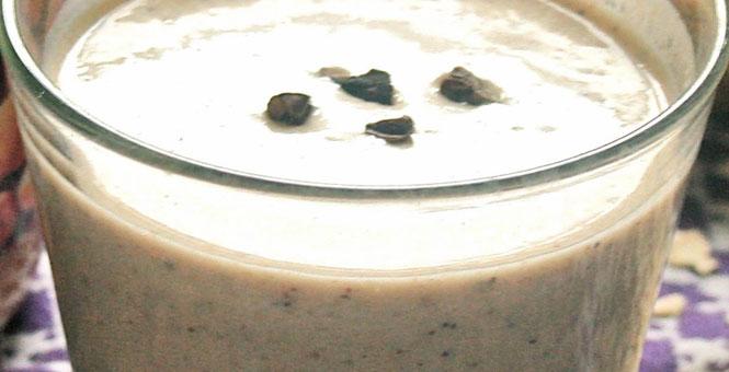 Semínkové smoothie s datlemi