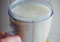 Rychlé banánové smoothie s medem recept