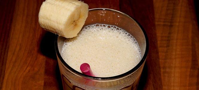 Banánovo-zázvorové smoothie