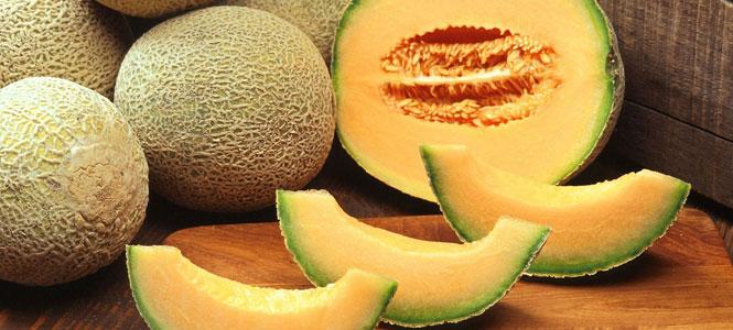 Osvěžující smoothie z melounu Cantaloupe