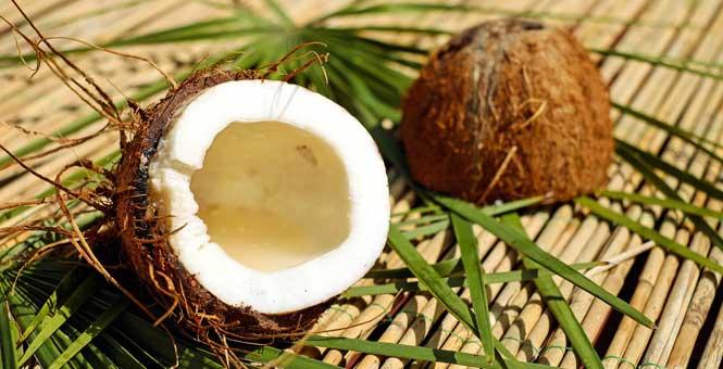 Kokosové smoothie s čajem