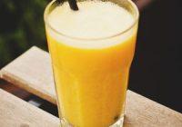Náhled citronového smoothie se zázvorem a kurkumou