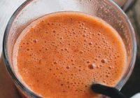 Náhled pikantního smoothie s rajčaty a paprikou