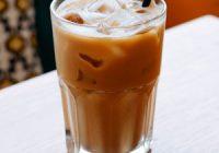 Náhled kávového smoothie s proteinem
