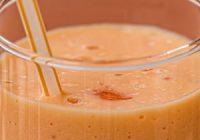 Náhled smoothie s mrkví a dýňovými semínky